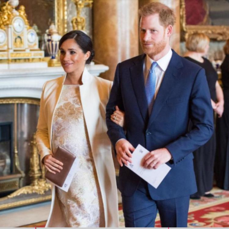 Meghan Markle And Prince Harry Reveal The Name Of Their