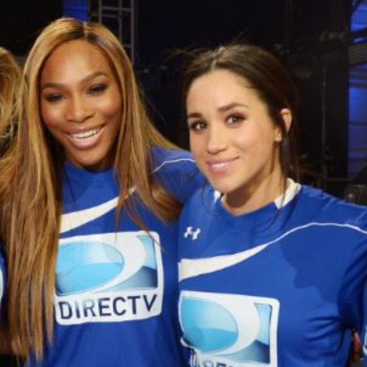 Meghan Markle,serena williams,Hollywood