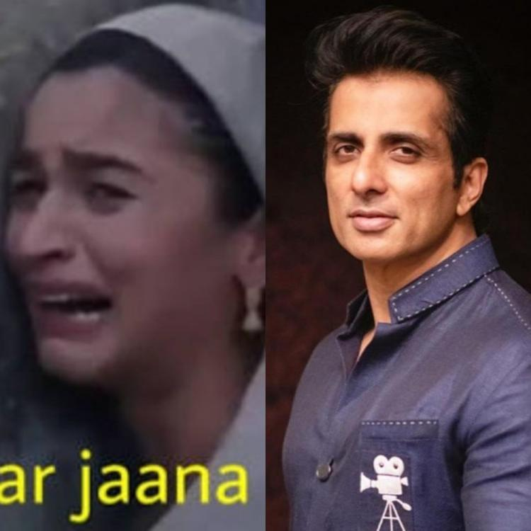 Memes FT Alia Bhatt, Salman Khan erupt as fans hail Sonu Sood for helping migrant workers; Actor is left ROFL
