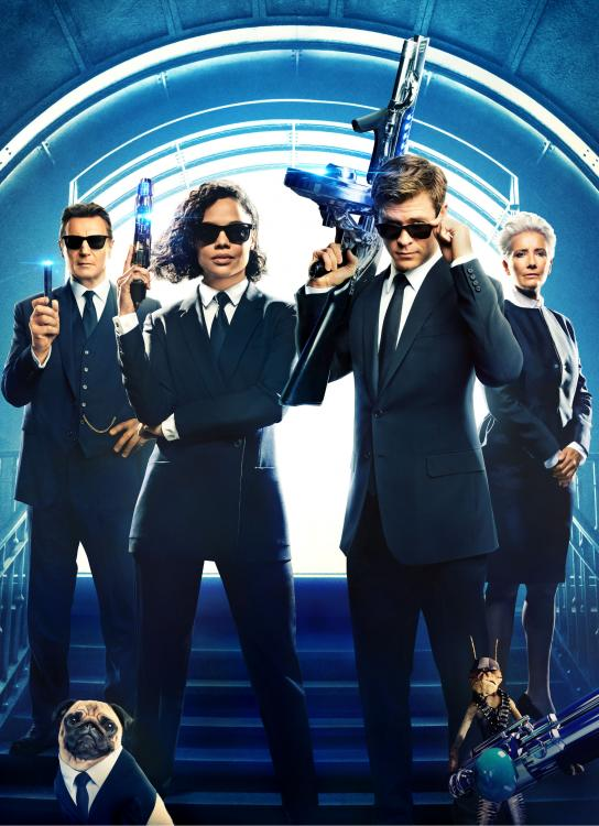 Men in Black: International Review: Tessa Thompson and Chris Hemsworth make this movie a one time watch