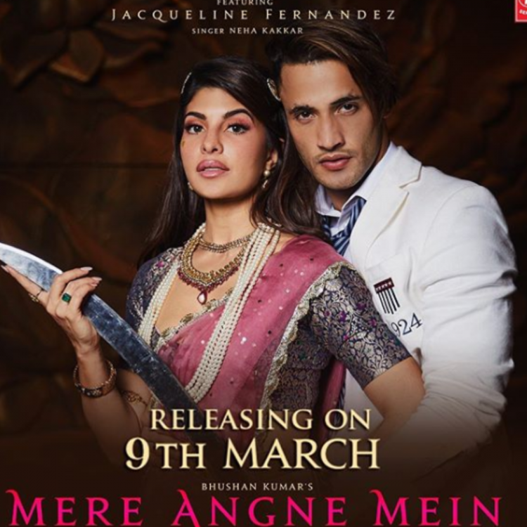 Asim Riaz and Jacqueline Fernandes' music video Mere Angne Mein gets a new release date; Check it out