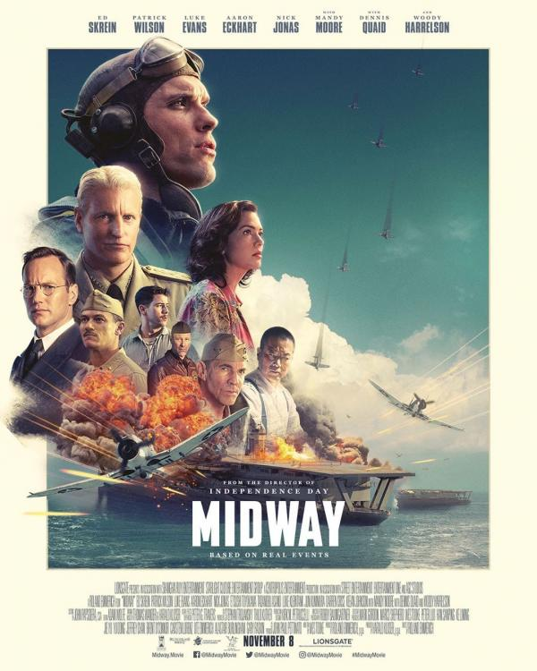 Midway Movie Review: Ed Skrein, Nick Jonas' jingoistic drama is painfully loud, lacks soul & a tiresome watch