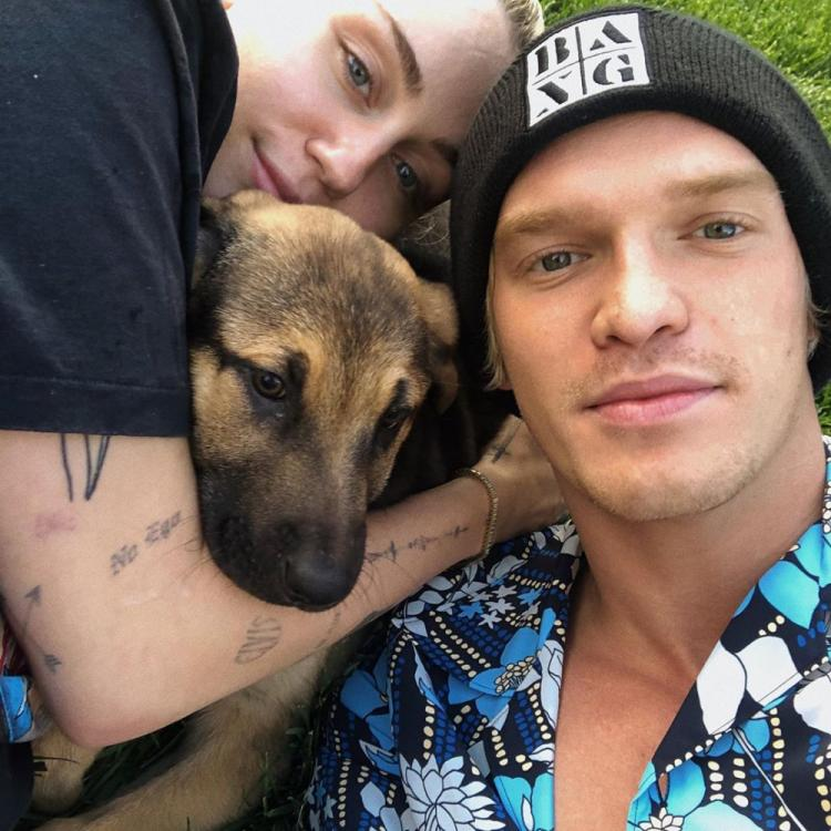 Miley Cyrus and Cody Simpson welcome a new furry friend amidst quarantine; See Pics