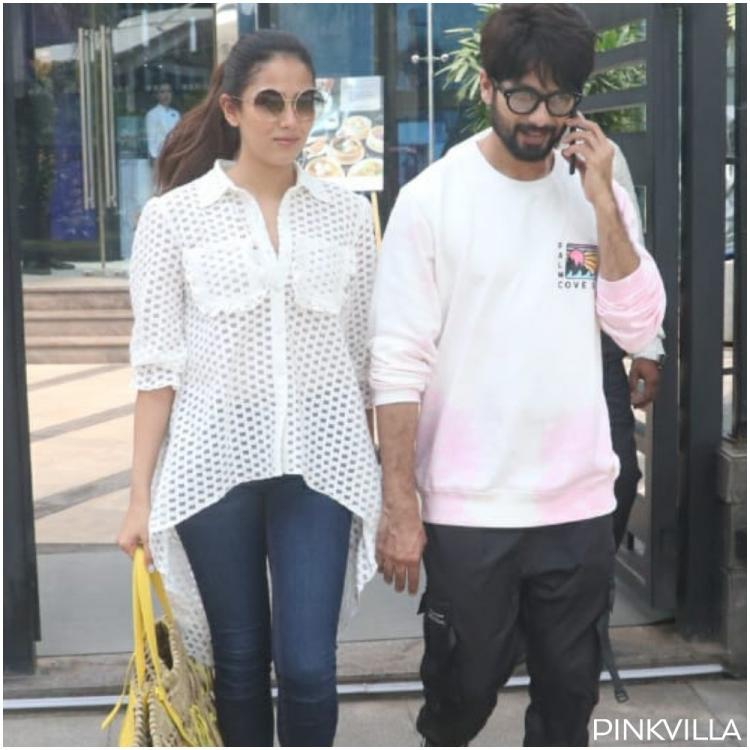 PHOTOS: Kabir Singh star Shahid Kapoor kicks off the weekend with a lunch date with wife Mira Rajput