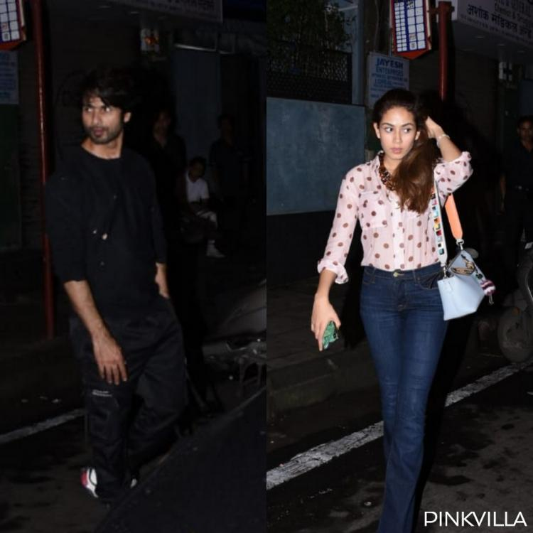 PHOTOS: Shahid Kapoor and Mira Rajput keep it casual as they head out for a dinner date together