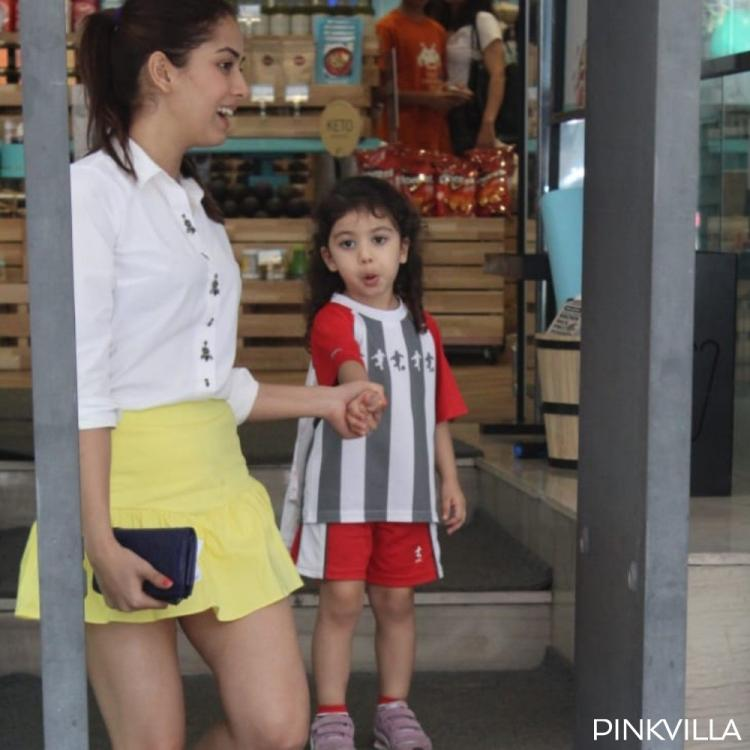 PHOTOS: Mira Rajput is accompanied by Misha for grocery shopping & the lil one's expressions steal the show