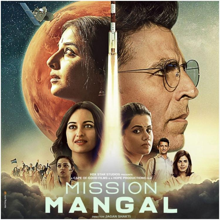 Mission Mangal: Here's what Vidya Balan has to say about Akshay Kumar's prominence on the film's poster
