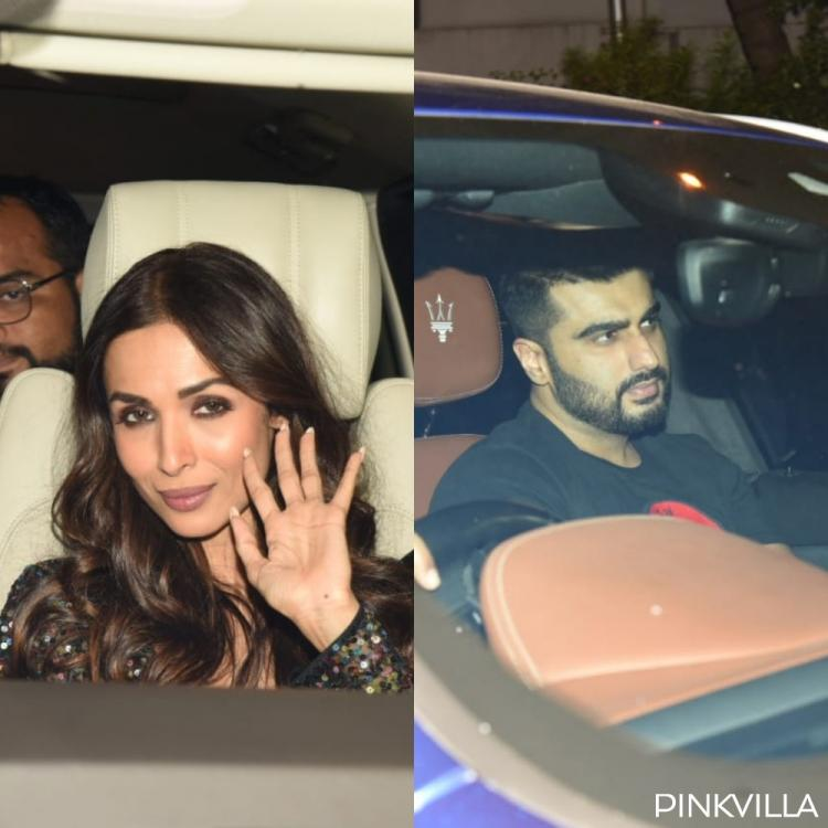 PHOTOS: Malaika Arora and Arjun Kapoor arrive at Katy Perry's welcome party hosted by Karan Johar