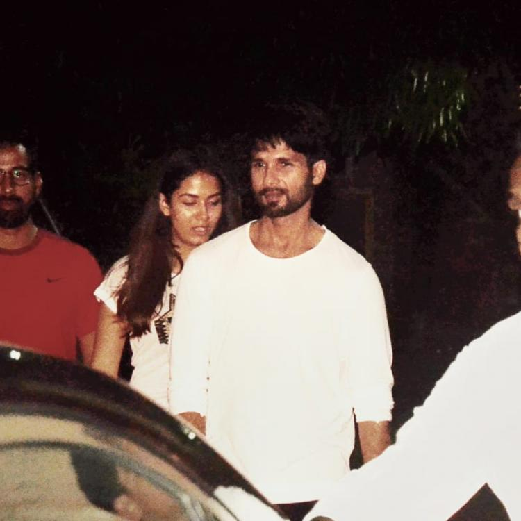 PHOTOS: Shahid Kapoor & Mira Rajput are giving major couple goals as they go out for dinner