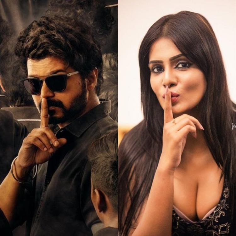 Bigg Boss Tamil 3 fame Meera Mitun alleges Vijay's look from Master poster was copied from her photo