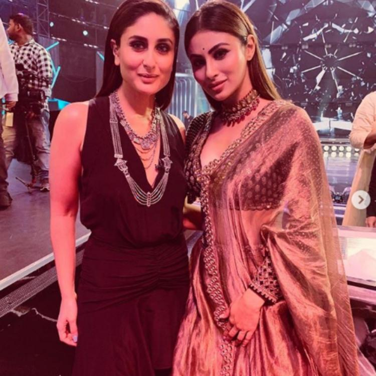 PHOTOS: Mouni Roy has a massive fangirl moment with Kareena Kapoor Khan on the sets of Dance India Dance
