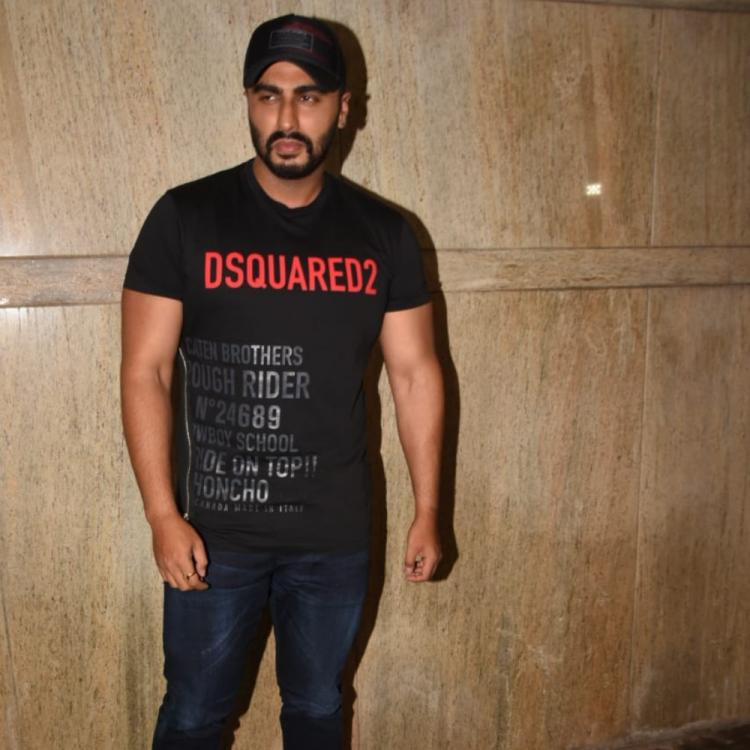 PHOTOS: Tara Sutaria, Kriti Sanon & others join Arjun Kapoor at the screening of his film India's Most Wanted
