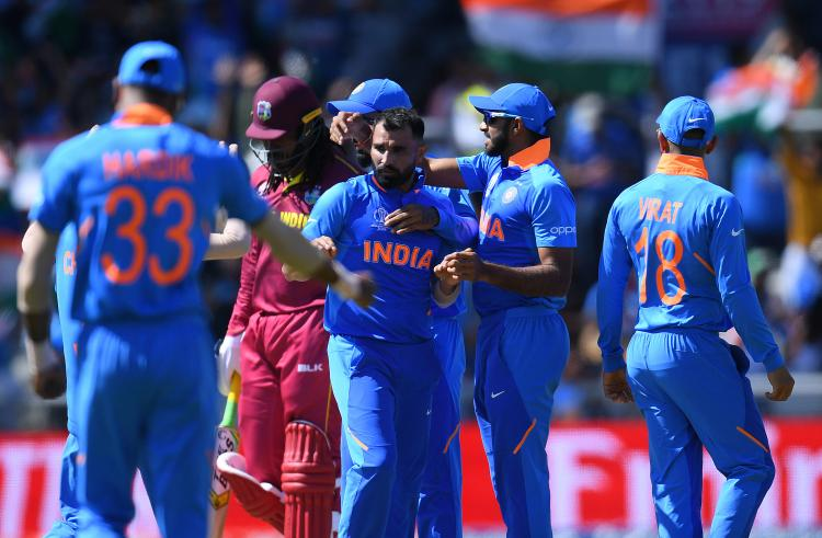 West Indies vs India Highlights, World Cup 2019: Mohammed