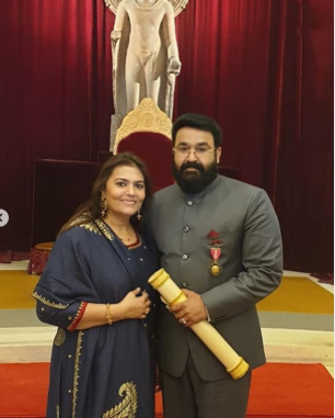 Padma Bhushan Award winner Mohanlal thanks his well wishers; says, 'It's a great honour and an achievement'