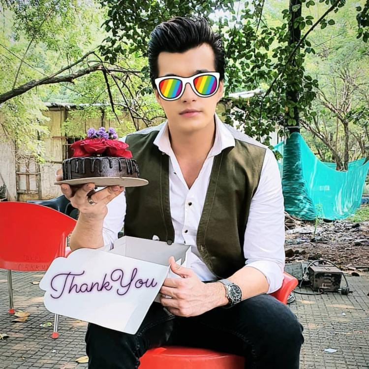 PHOTO: Double celebrations for Mohsin Khan as he celebrates 950 episodes of KaiRa and his pre birthday