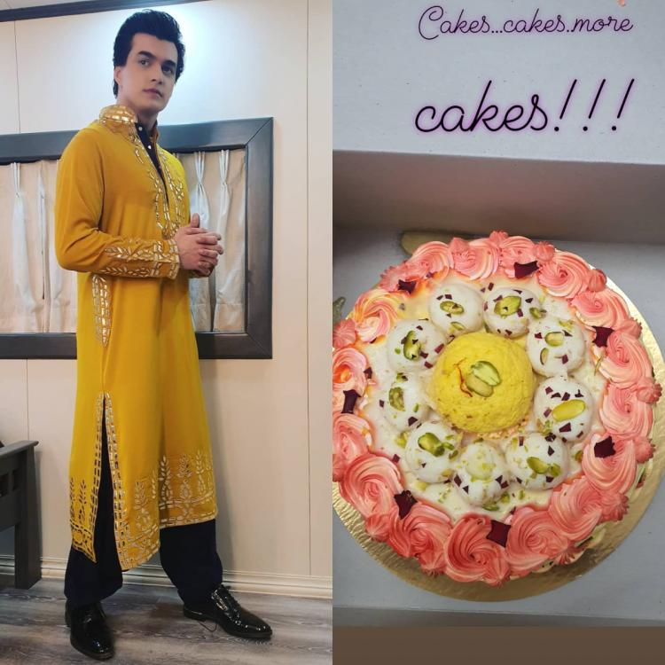 PHOTOS: Yeh Rishta Kya Kehlata Hai's Mohsin Khan thanks fans as he gets several cakes ahead of his birthday; Check it out