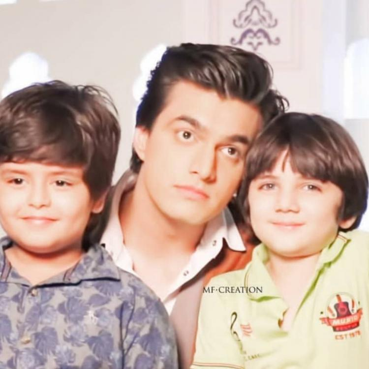 YRKKH's Mohsin Khan's Children's Day wish for Kairav and Vansh is too cute to handle; Check it out