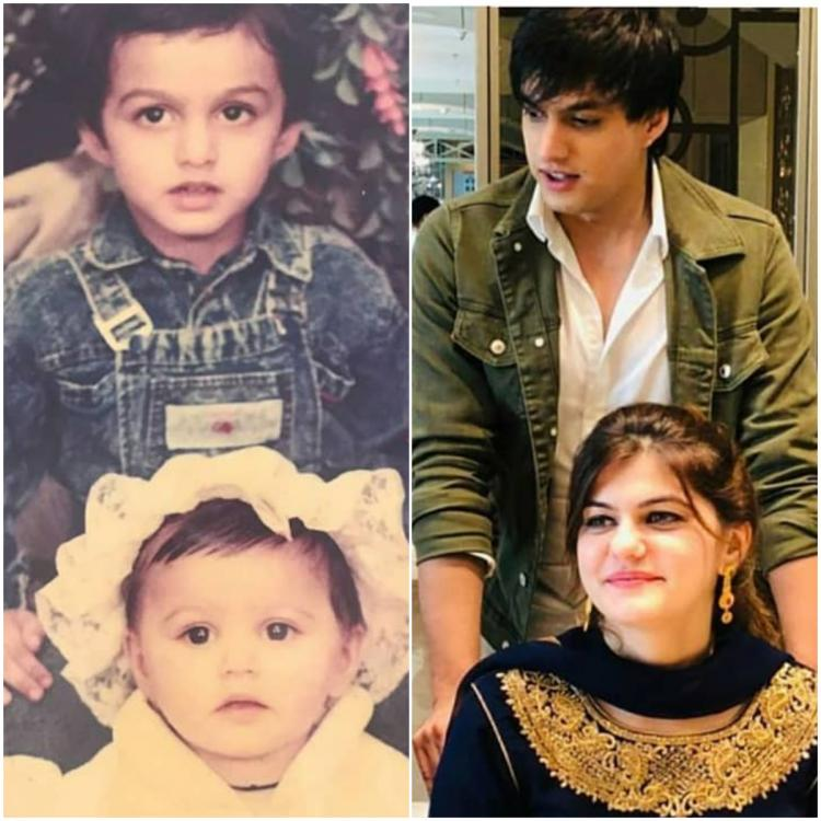Yeh Rishta Kya Kehlata Hai: Mohsin Khan to bag the 'Best Brother' tag with THIS then & now pic with his sister