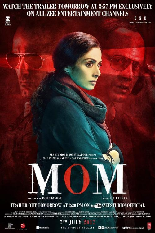 Late Sridevi's movie Mom earns more than Rs 9 crore on its opening day in China