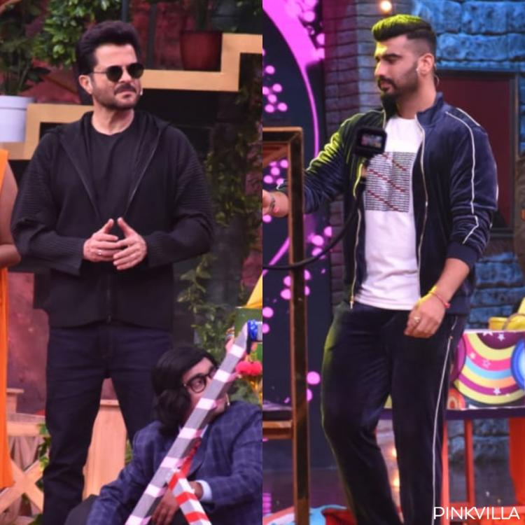 PHOTOS: Arjun Kapoor & Anil Kapoor are latest guests to grace entertainment show Movie Masti With Maniesh Paul