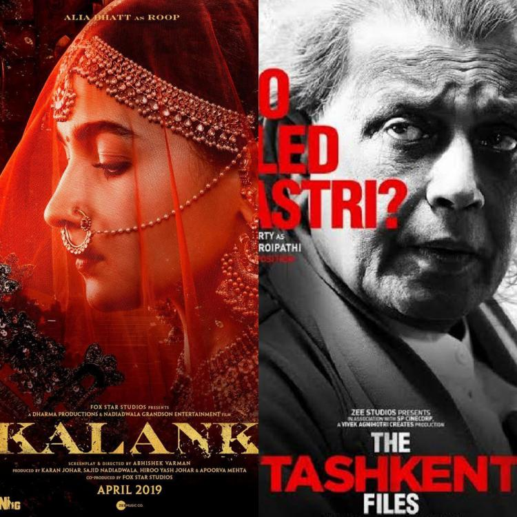 That Year This Month: From Kalank to The Tashkent Files, Bollywood releases that got us excited in April 2019