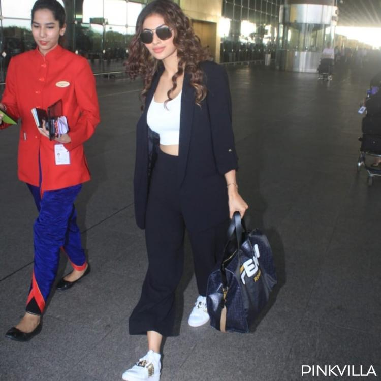 PHOTOS: Mouni Roy looks effortlessly chic in a casual outfit at the airport