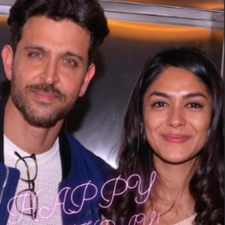 Hrithik Roshan wishes Super 30 co actor Mrunal Thakur on her birthday, calls her a special actor; View PIC