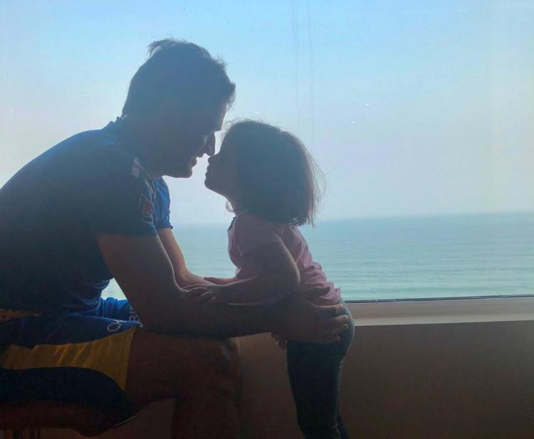 MS Dhoni and Ziva 'baby shark' Dhoni have fun in pool, Hardik Pandya joins the party
