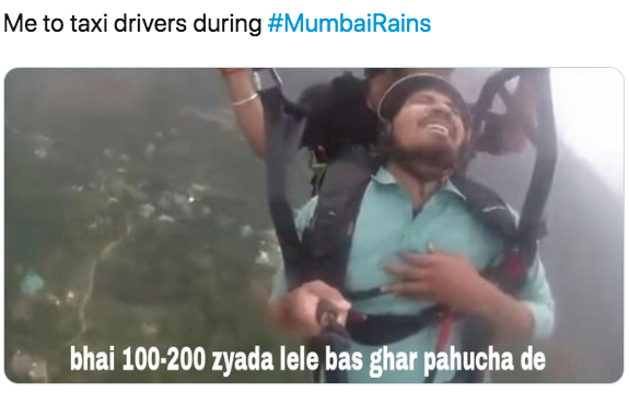 Mumbai Rains: Twitter has a field day with memes as the city faces torrential showers & floods yet again