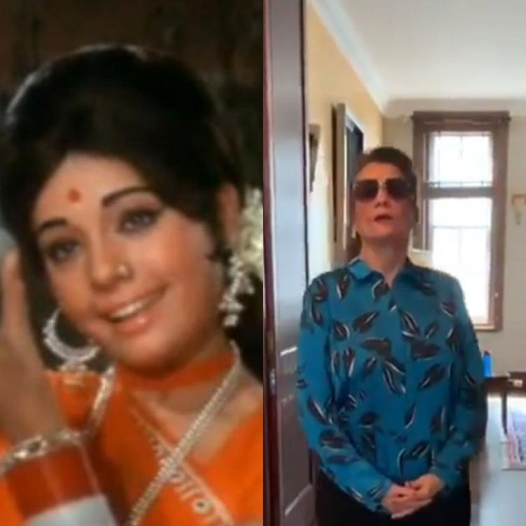 Veteran actress Mumtaz rubbishes her death rumours with a beautiful video; Says 'I am alive and not buddhi'
