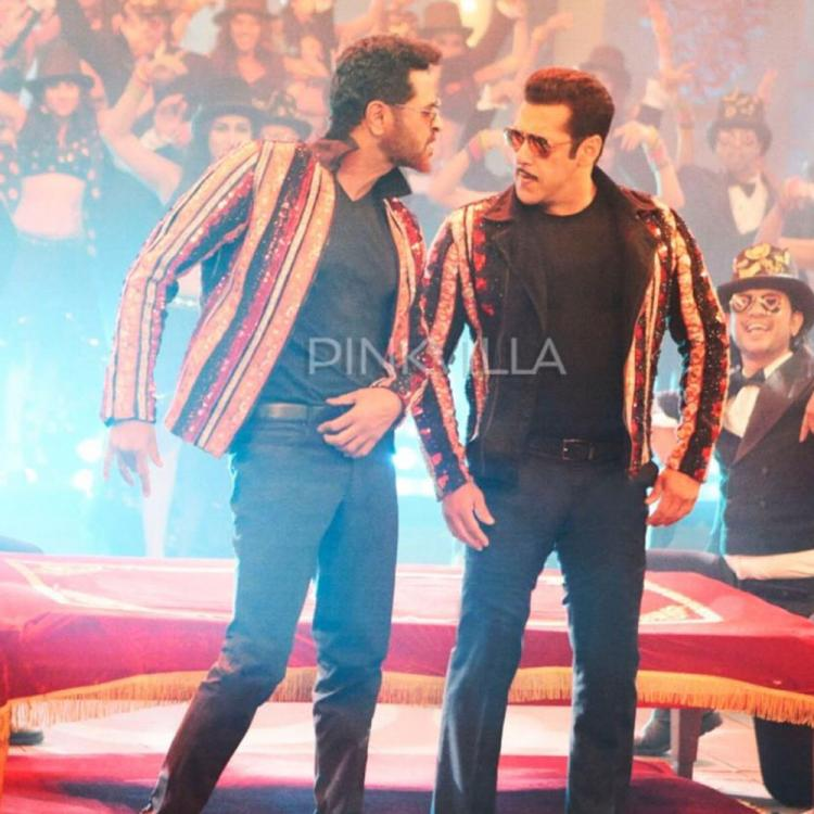 EXCLUSIVE: Dabangg 3 Song Munna Badnaam: Salman Khan and Prabhudheva set to burn the dance floor; See Pic