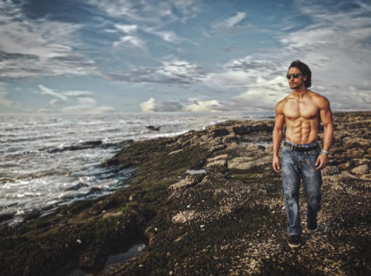 Swag Is A Shirtless Tiger Shroff Strolling Around The Picturesque