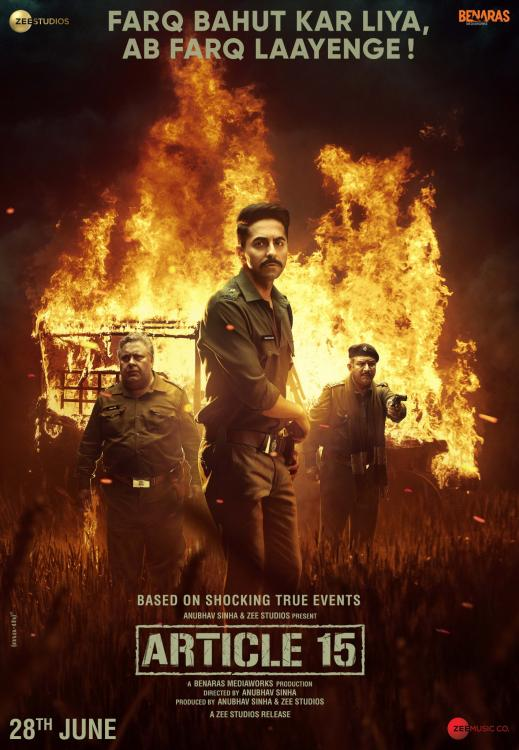 Ayushmann Khurrana starrer Article 15 wins the Audience Award at London Indian Film Festival