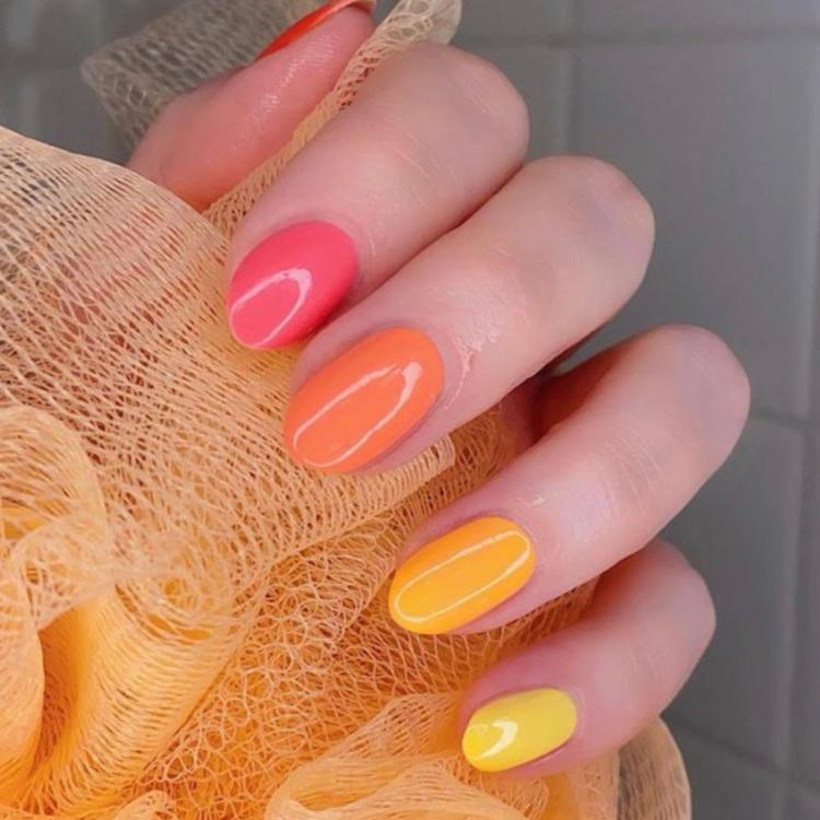 Skittles Manicure: The only nail trend you need to bring some colour into the lockdown