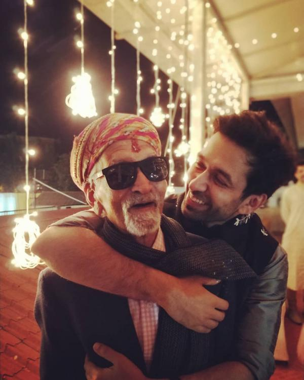 Ishqbaaz actor Nakuul Mehta's adorable picture with his Nana Ji will make your heart happy