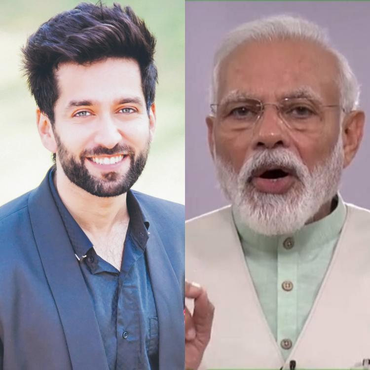 Nakuul Mehta takes a dig at PM Modi's request to light diyas and candles to fight COVID 19 darkness