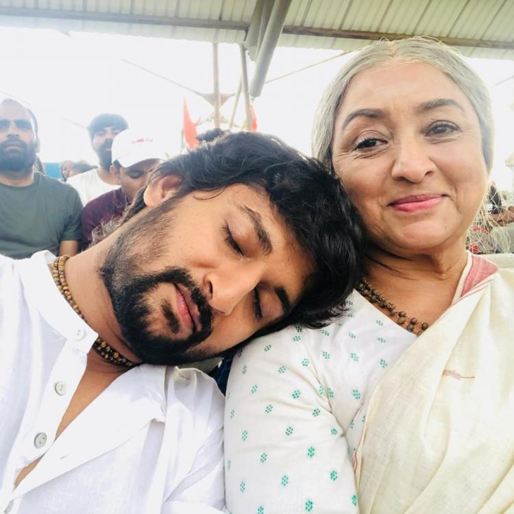 Gang Leader star Nani shares an adorable still from the film; Check it out