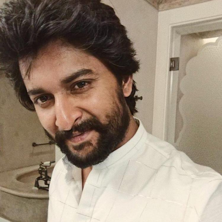 Gang Leader star Nani flaunts his 'salt and pepper' look; View Pic