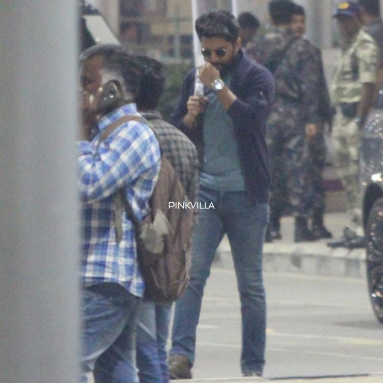 PHOTOS: Gang Leader star Nani gets papped as he shoots for his upcoming film titled V