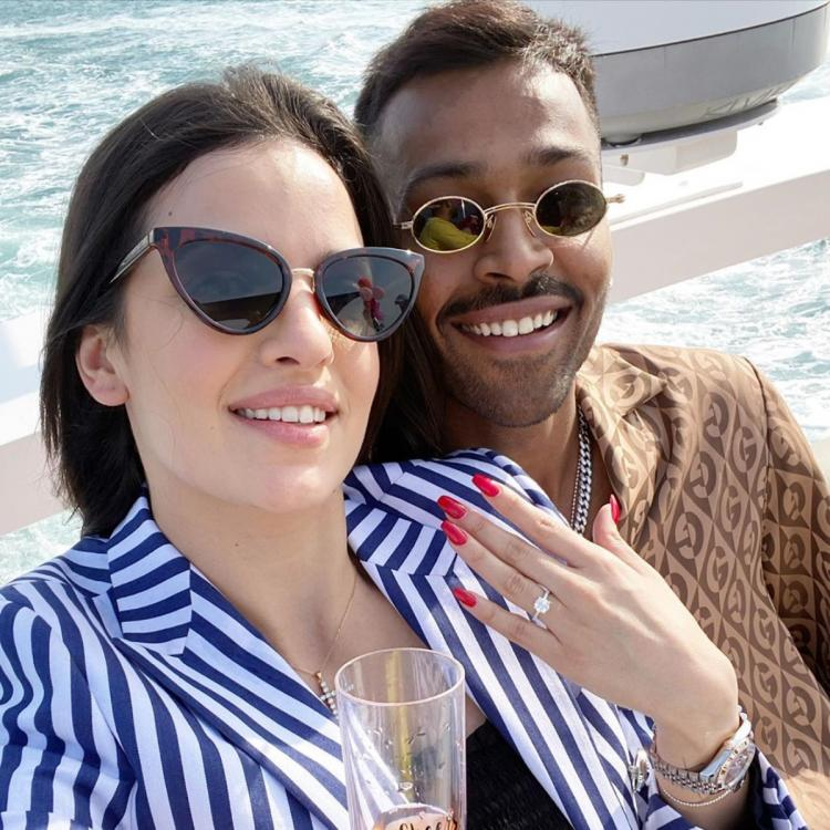 Hardik Pandya announces his engagement to Natasa Stankovic with an adorable picture; Check it out
