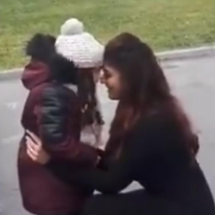THROWBACK: Nayanthara pulling a kid's cheeks and playing with her in Azerbaijan is beyond adorable