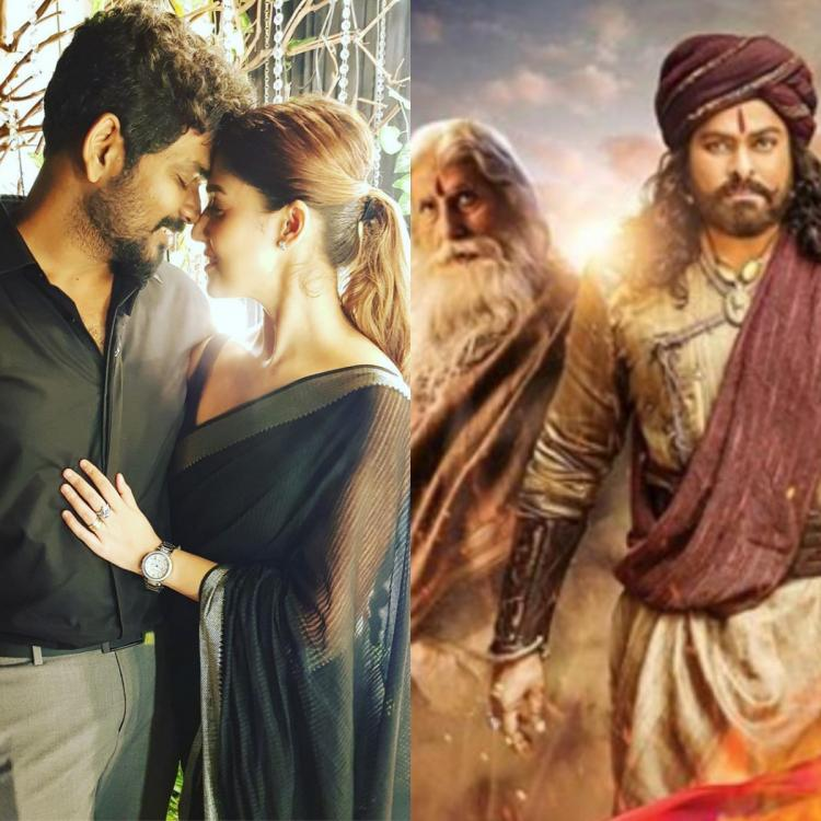 South Newsmakers Of The Week: Nayanthara and Vignesh Shivan's romantic pic to Sye Raa and Bigil; Check it out