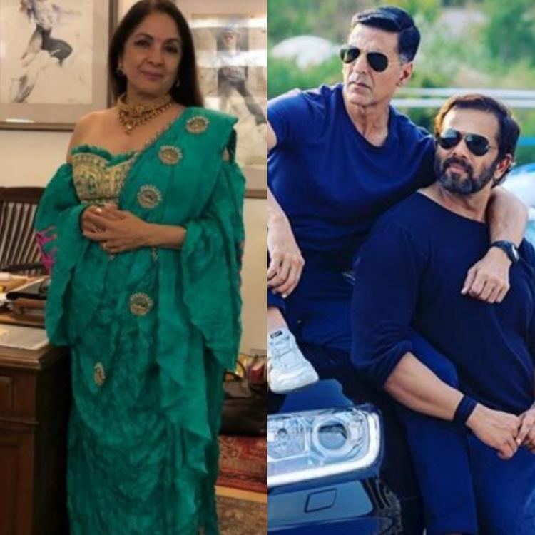 Neena Gupta REVEALS not Rohit Shetty but production assistant told her about her removal from Sooryavanshi