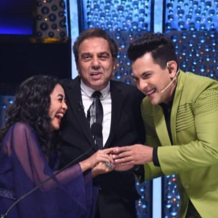 Image result for dharmendra blessing neha and aditya