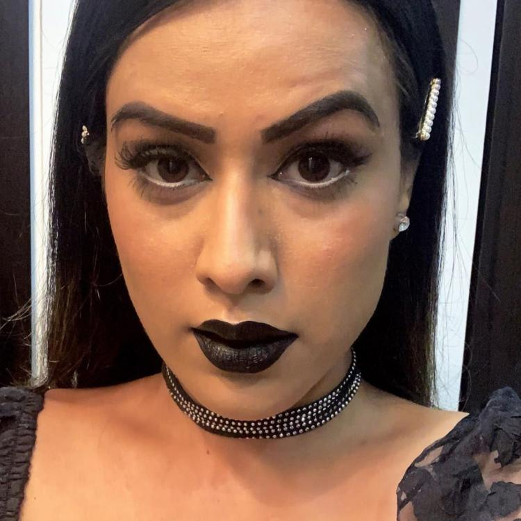 Naagin 4 actress Nia Sharma sports an all black bold look and we've never loved black this much; View Pics