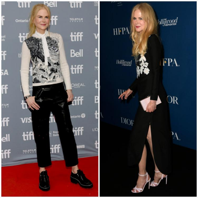 Nicole Kidman steps out in Dior, Chloe & Valentino for the premiere of The Goldfinch at TIFF