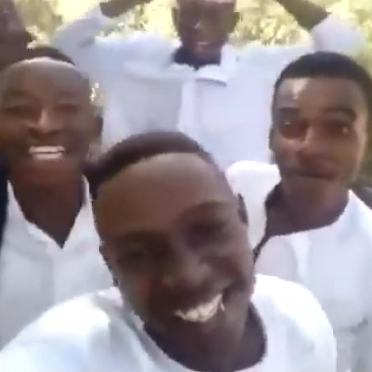 Nigerian boys singing Shah Rukh Khan's Bholi Si Surat is one of the best videos on the internet today