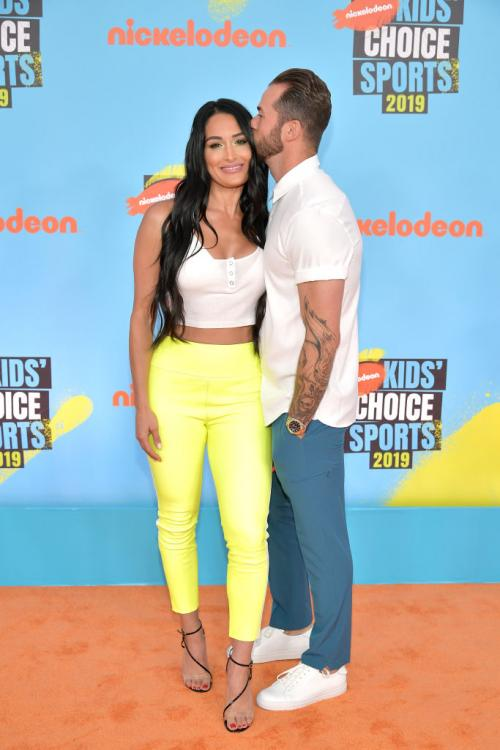 Nikki Bella and Artem Chigvintsev first met on the sets of Dancing with the Stars.