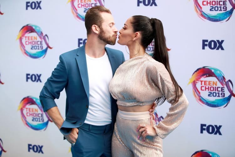 """Nikki Bella gushed about her """"amazing"""" sex life with boyfriend, Artem Chigvintsev, in a recent podcast."""