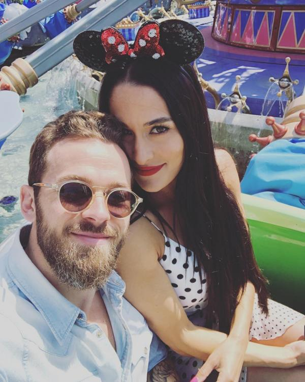 Nikki Bella spoiled Daenerys Targaryen's fate at the end of Game of Thrones for boyfriend Artem Chigvintsev and Daniel Bryan.